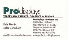 Click to see ProDisplays Northeast, Inc. Details